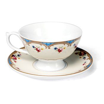 Vintage Inspired Regency Tea Cup