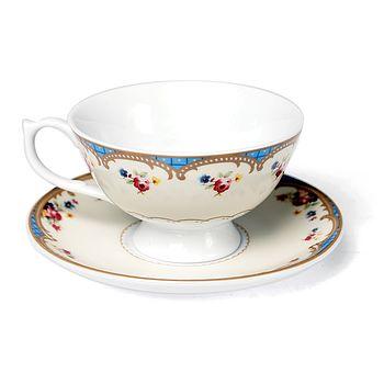 Vintage Inspired Regency Tea Cup