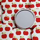 Apple Cosmetic Mirror