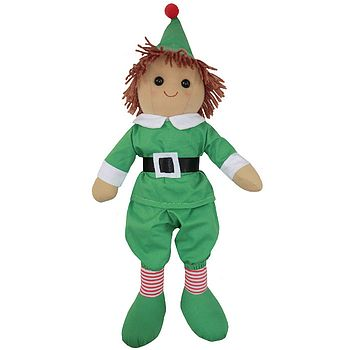 Mini Elf Rag Doll