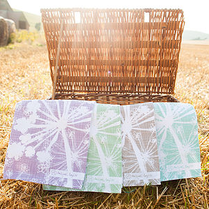 Cow Parsley Tea Towels