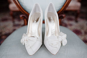 Marilyn Suede Court Shoes - wedding fashion