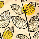 50's Inspired Tea Towel Detail