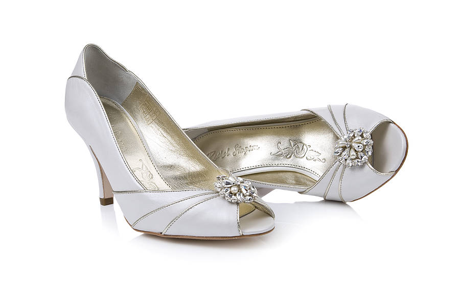 Wedding Sparkle Shoe Clips