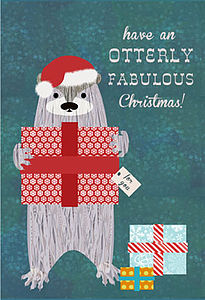 Otterly Fabulous Christmas - cards