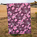 Floral Sprigs Tea Towel