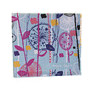 Quirky Floral Stems Tea Towel Folded