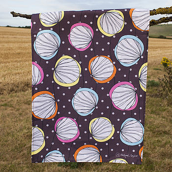 Scribble Shells Tea Towel
