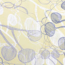 Ghost Leaves Tea Towel Detail