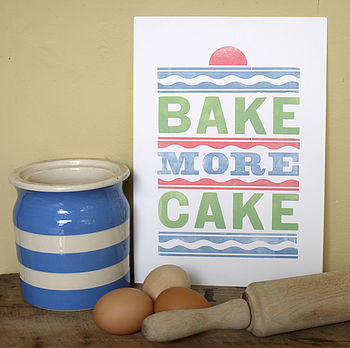 bake more cake pastel colours