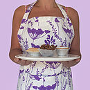 50% Off Special Offer Plum Cow Parsley Design Apron