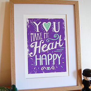Happy Heart Print