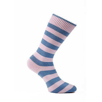 Harris Thin Striped Cotton Socks