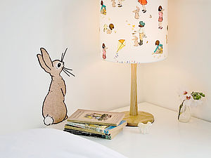 Boo Rabbit Wall Sticker - children's room accessories