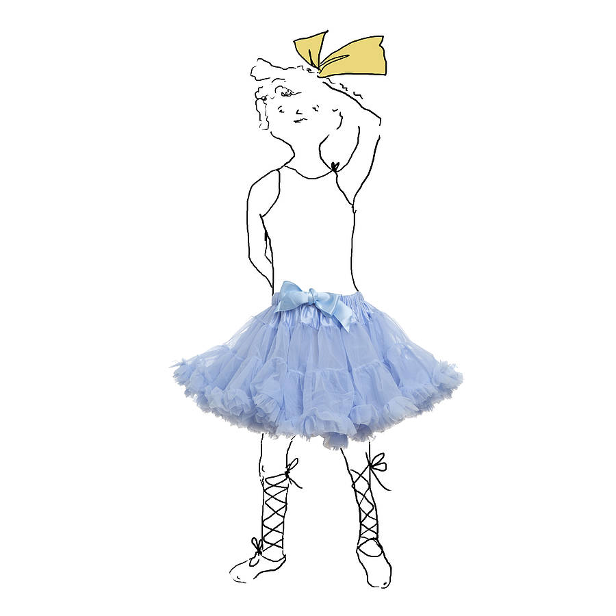 'Something Blue' Wedding Petticoat