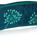 Silk Flower Wash/ Cosmetic Bag Three Colours