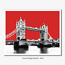 Tower Bridge Skyline - Limited Edition Print