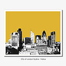 London Skyline Limited Edition Prints
