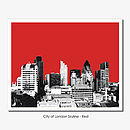 London Skyline Limited Edition Print