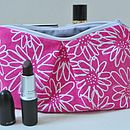 Pleated Make Up Pouch