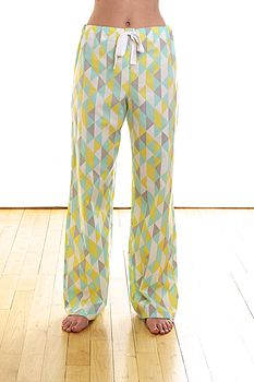 Sherbert Organic Cotton Pyjama Trousers