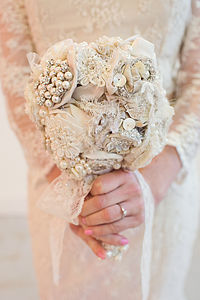 Silk Flower Bouquet - wedding fashion