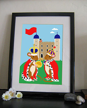 Mice In The Tower Limited Edition Print