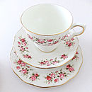 Vintage Pink China Tea For One Set