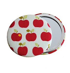 Apple Cosmetic Mirror - beauty accessories