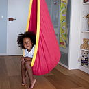 Kid's Hanging Pod - Red