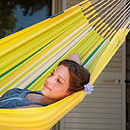 Organic Cotton Single Hammock