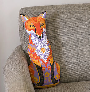 Felix The Fox Tea Towel Or Cut And Sew Kit - tea towels