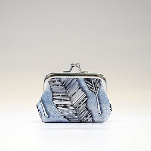 Feather Coin Purse - bags & purses