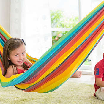 Child's Rainbow Hammock