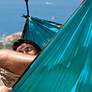 Travel Hammock Single - Blue