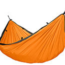 Orange Travel Hammock Single