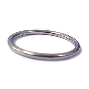 White Gold Wedding Ring 2mm