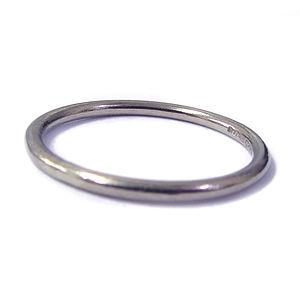 White Gold Wedding Ring 2mm - rings