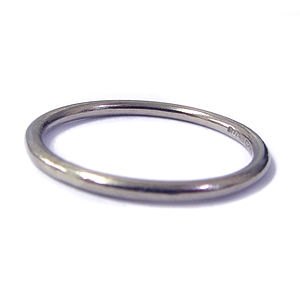 White Gold Wedding Ring 2mm - rings