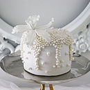 Mini Oyster Pearl Orchid Cake