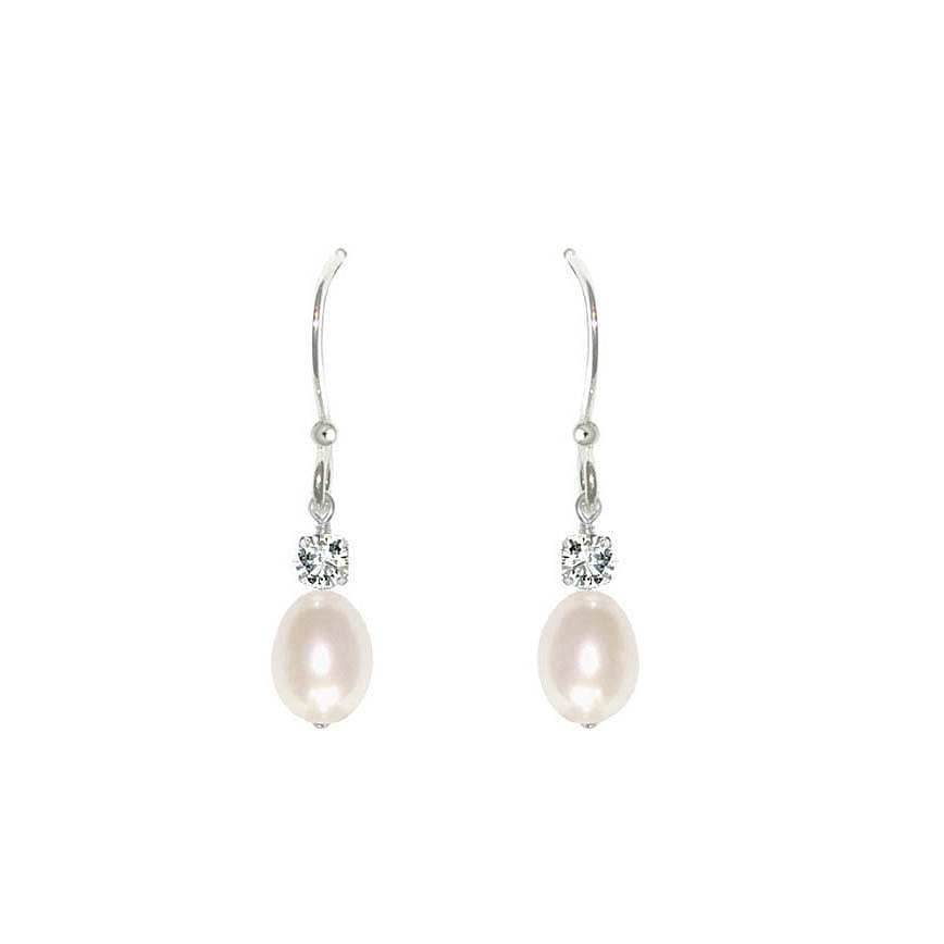 Anna Pearl Drop Earrings By Chez Bec Notonthehighstreet Com