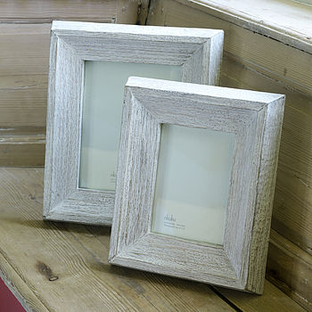 Chunky Distressed Wood Frame