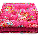 PiP Studio floor cushion Fuschia