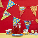 Superhero Pop Art Party Bunting
