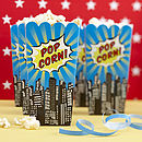 Superhero Pop Art Popcorn Boxes