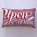 Once Upon A Time Cushion