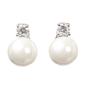 Emily Pearl Earrings - wedding jewellery