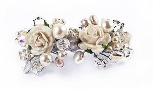 Flower Pearl Clip