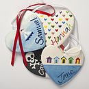 Personalised Hand Painted Heart