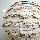 Love And Light Music Paper Lampshade